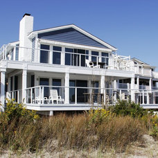 Beach Style Exterior by JOB Design and Construction