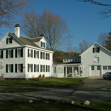 new link between historic house and barn
