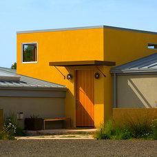 Contemporary Exterior by Kerr Construction, Inc.