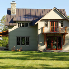 Rustic Exterior by Conner & Buck