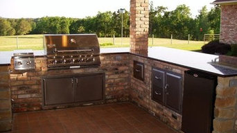 New Outdoor Kitchen in the Country East Texa