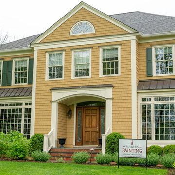 New Paint Adds New Life To Stately Morristown Home