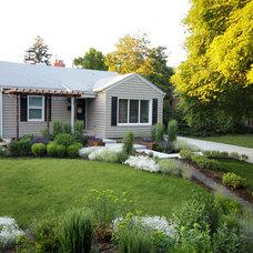 Traditional Exterior by Kingbird Design LLC