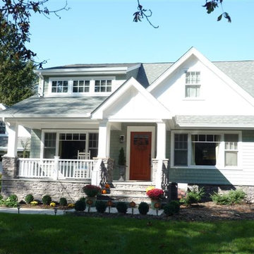 New Porch, & Shed Dormer Addition In Huntington, NY
