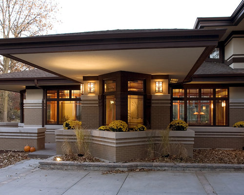Prairie Style Window Home Design Ideas Pictures Remodel