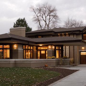 New Prairie Style Residence