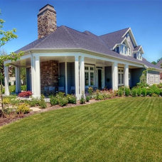 Traditional Exterior by Renovation Design Group