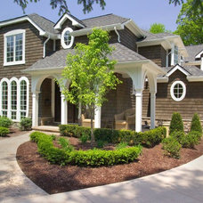 Traditional Exterior by Moiseev/Gordon Associates, Inc