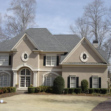Traditional Exterior by Housworth Roofing & Construction