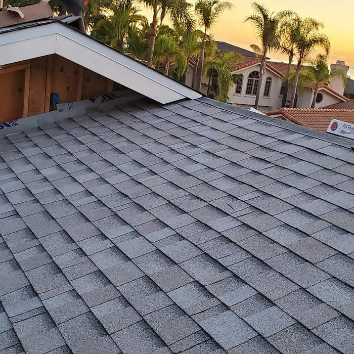 New Roof at Sunset