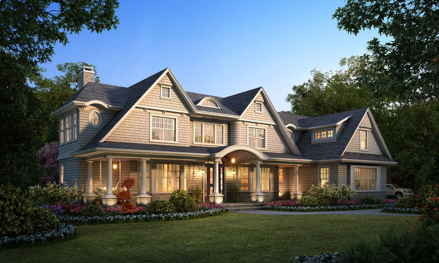 New Shingle Style Residence