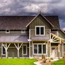 Traditional Exterior by Bear Mountain Builders