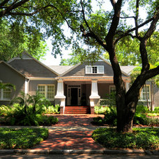 Craftsman Exterior by Sunset Properties of Tampa Bay