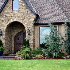 Traditional Exterior by Huffman Construction