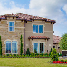Mediterranean Exterior by Newmark Homes
