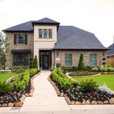Traditional Exterior by Newmark Homes