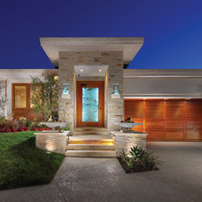 Contemporary Exterior by Connie McCreight Interior Design
