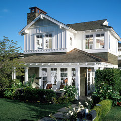 traditional exterior by Sennikoff Architects