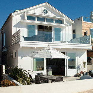 75 Small Beach Style Exterior Home Ideas Explore Small Beach Style