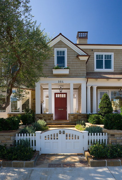 Traditional Exterior by Sinclair Associates Architects