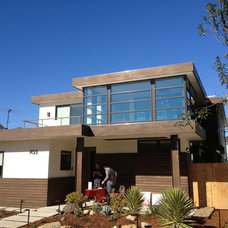 Contemporary Exterior by Pacific Architectural Millwork