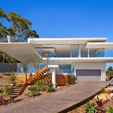 Contemporary Exterior by Site Specific Designs