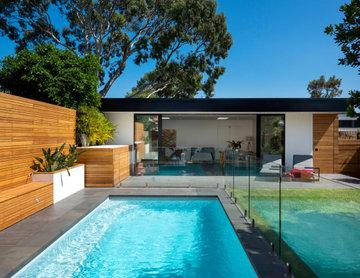 Newport pool house