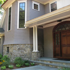 Traditional Exterior by Leslie Saul & Associates