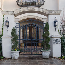 Mediterranean Exterior by Christopher Lee & Company Fine Homes