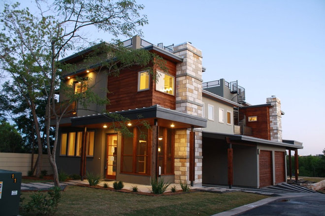 Contemporary Exterior by Nick Mehl Architecture