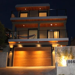 contemporary exterior by GayleDesigns