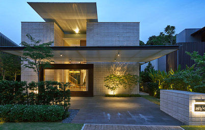 Houzz Tour: This Modern-Tropical Sentosa Home was Japanese-Inspired