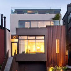 Modern Exterior by Design Line Construction, Inc.