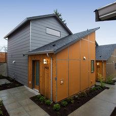 Contemporary Exterior by Beau Development