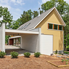Contemporary Exterior by Sanders Pace Architecture