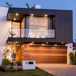 This is an example of a contemporary exterior in Perth.