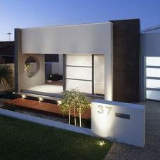 Modern Exterior by WellBuilt Landscape Construction