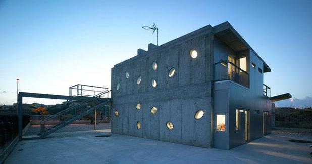 Contemporary Exterior by Martin Lejarraga Architecture Office