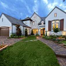 Traditional Exterior by Frankel Building Group