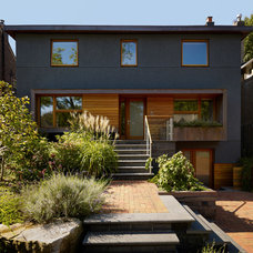 Contemporary Exterior by Altius Architecture, Inc.