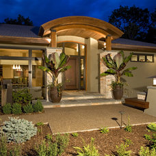 Mediterranean Exterior by Bob Michels Construction, Inc.