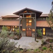 Farmhouse Exterior by Rozewski & Co., Designers, LLC