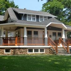 Craftsman Porch by Frank Falino Architect