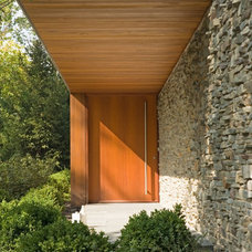 Modern Entry by Thomas Shafer Architects LLC