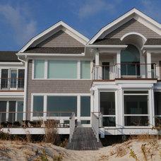Beach Style Exterior by Burton Builders