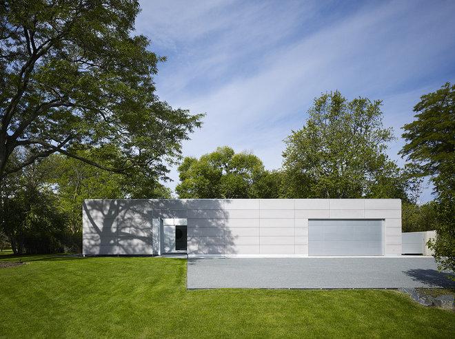 Moderno Fachada by Wheeler Kearns Architects