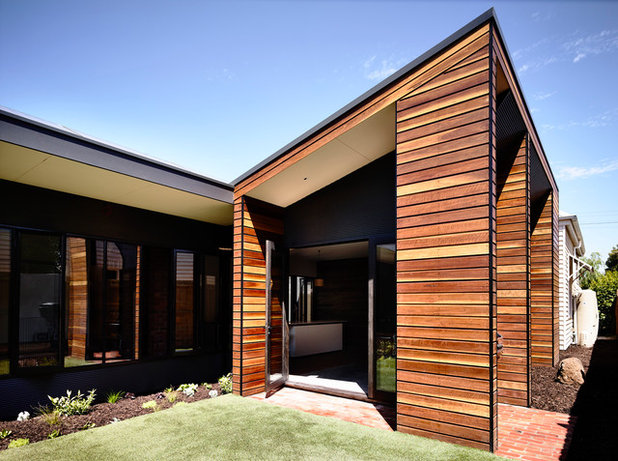 Contemporary Exterior by Wolveridge Architects