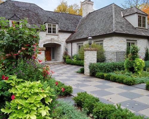 French country courtyard home design ideas pictures for French style courtyard ideas