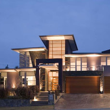 Contemporary Exterior by Aspect Designs