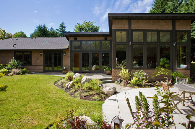 Contemporary Exterior by Paul Moon Design